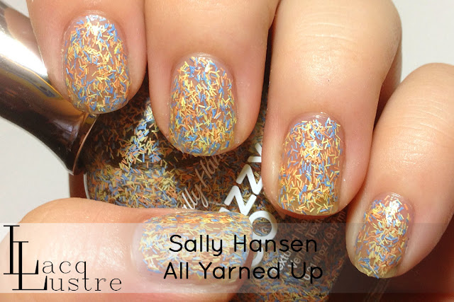 Sally Hansen All Yarned Up swatch
