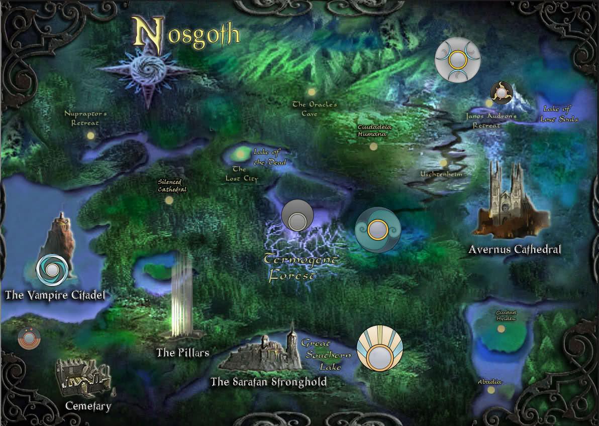Mapa de Soul Reaver 2