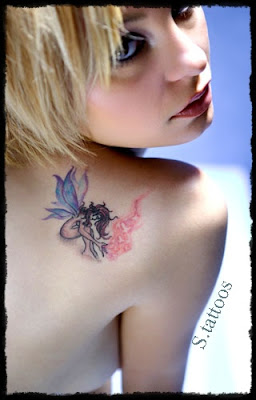 small angel tattoos design - small angel tattoos design pictures