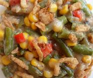 slow cooker creamy mixed veggie casserole