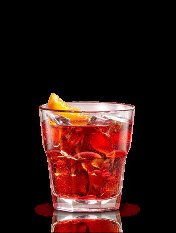 Classic Campari Negroni Ccktail