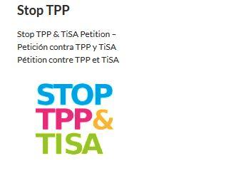 INICIATIVA GLOBAL CONTRA EL TPP Y EL TISA