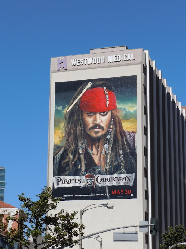 Pirates of the Caribbean 4 movie billboard