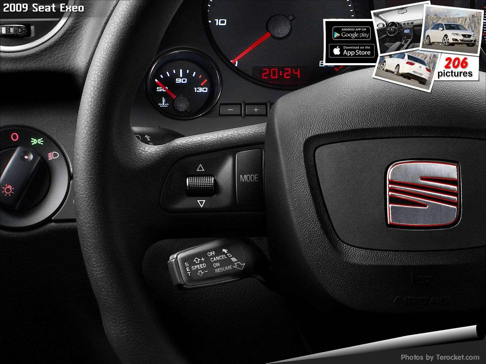 Hình ảnh xe ô tô Seat Exeo 2009 & nội ngoại thất