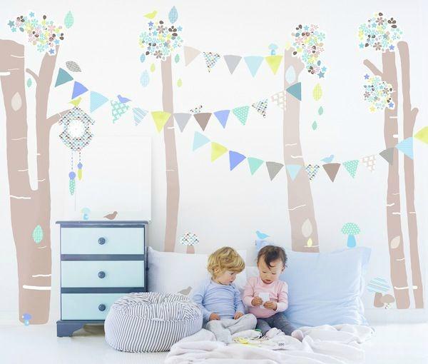 De lunes a domingo vinilos para decorar dormitorios for Vinilos dormitorios infantiles