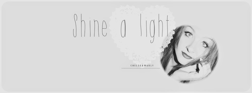 ...shine a light ♡