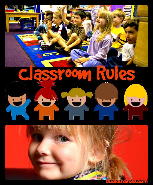 preschool, kindergarten, school rules, classroom management