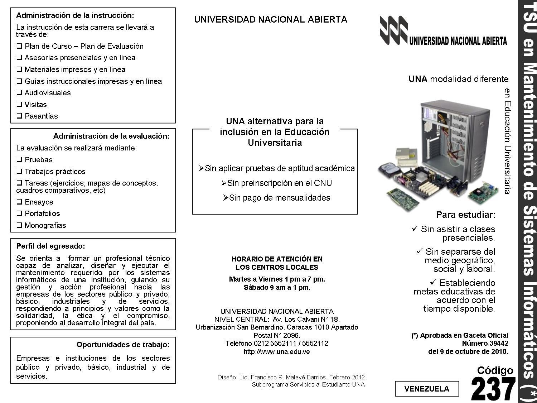 TSU en Mantenimiento de Sistemas Informáticos