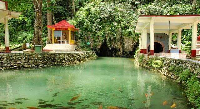 Les grottes de Chiang Rai - la grotte aux poissons