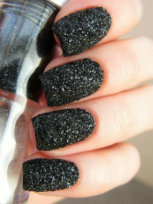 Black Sand Nails