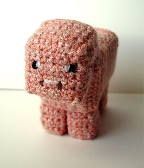 meekssandygirls crochet: Crochet Minecraft!