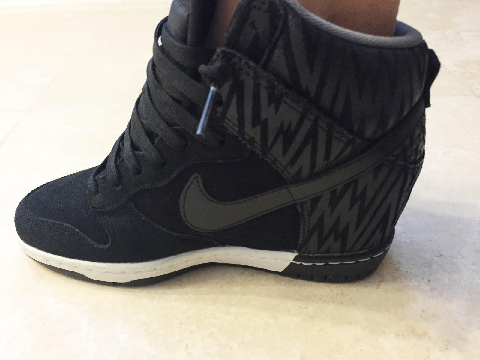 newest 6218b 24f58 Nike Dunk Wedge Sneakers