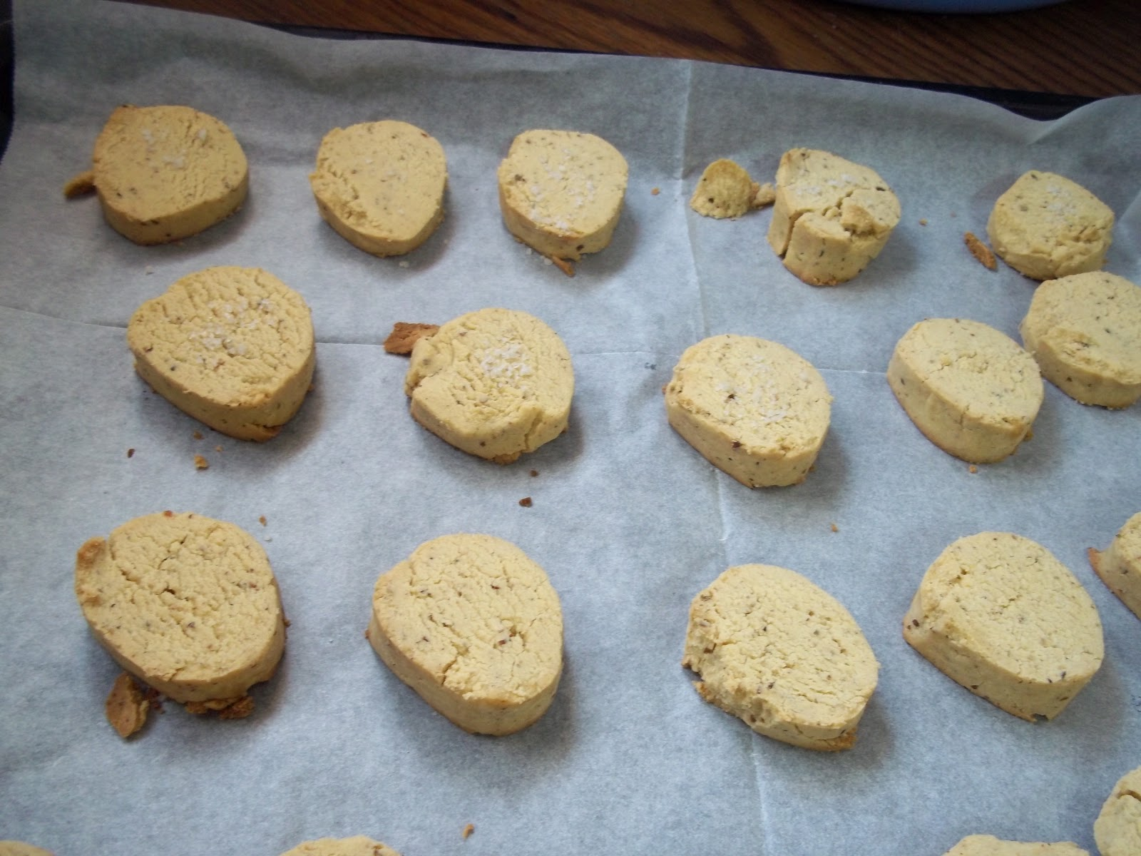 Aniseed Shortbread Recipe — Dishmaps