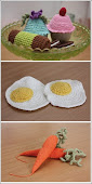 hæklede lege mad