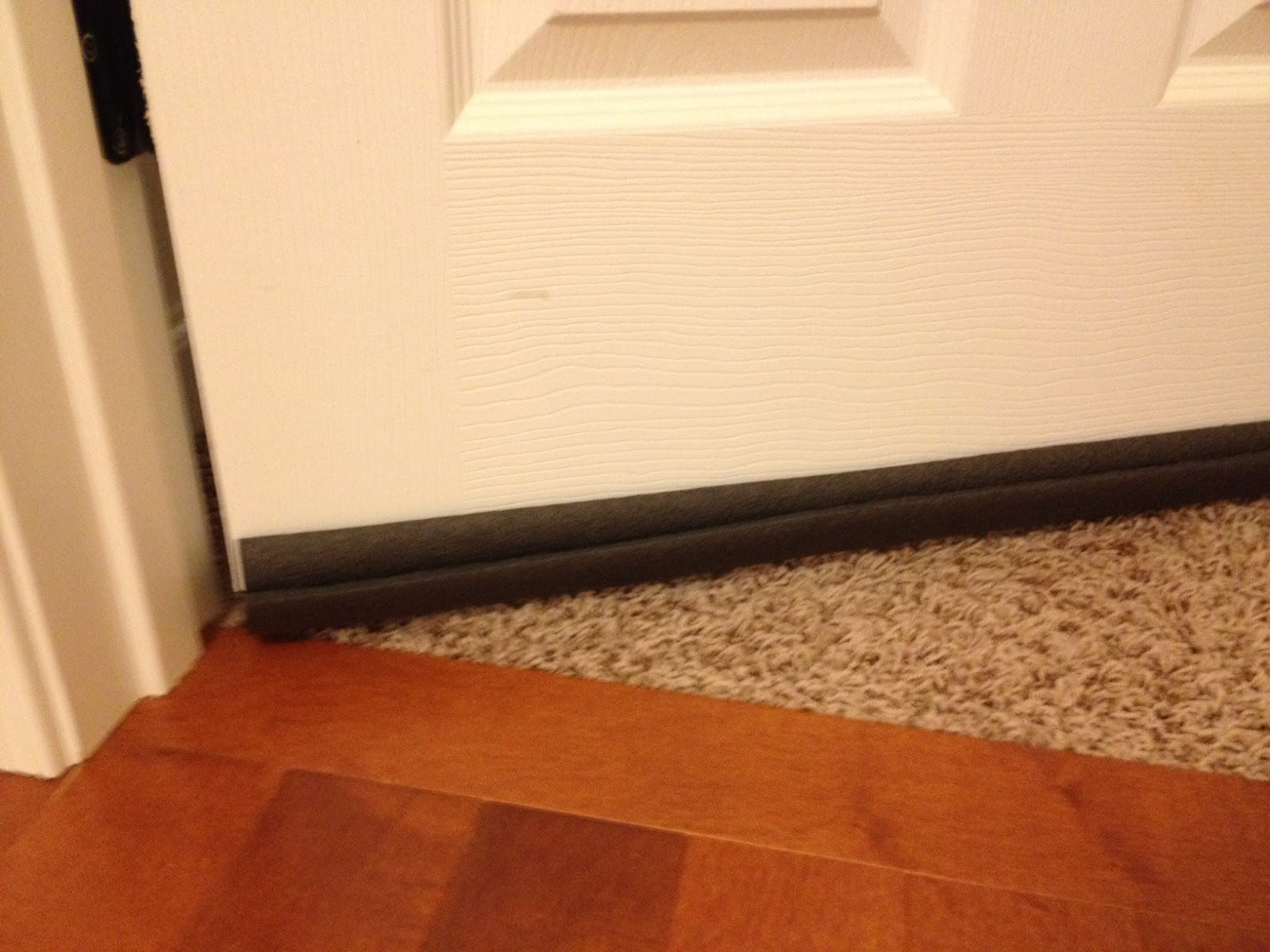 Velezita Frugal Lazy Fix For Builder Grade Doors With Big Gaps At The Bottom