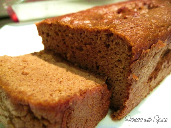 Fitness with Spice: Paleo Pumpkin Bread
