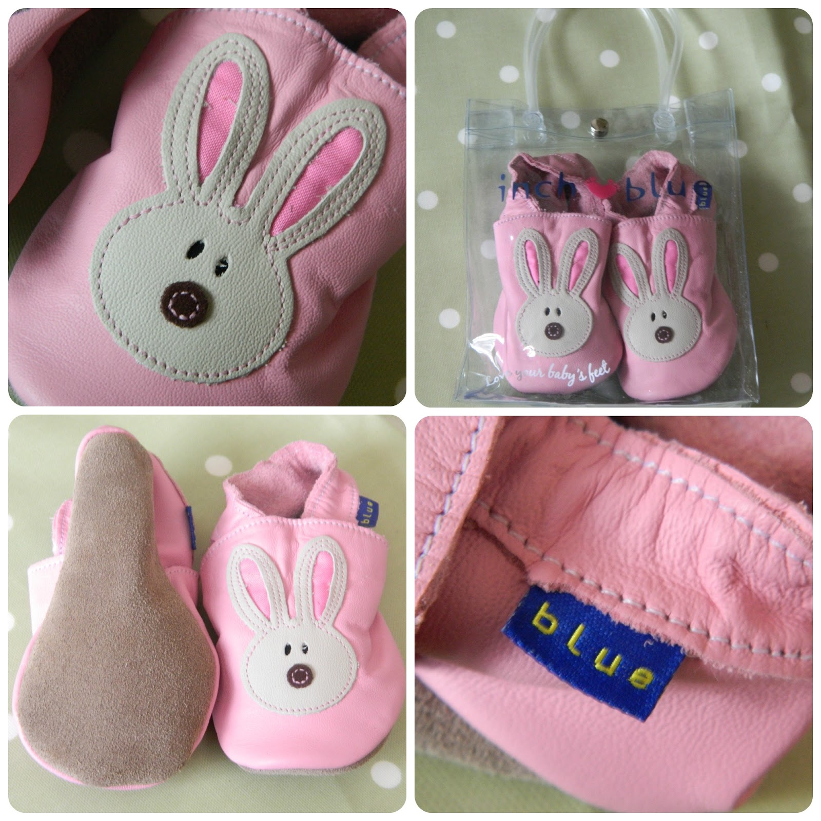 Inch Blue Bunny Rabbit Shoes for Easter