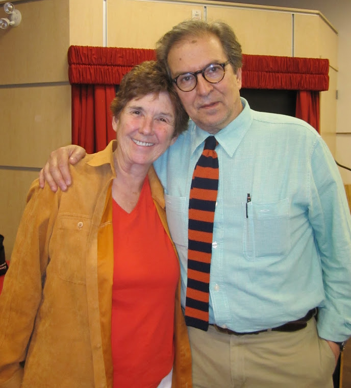 Joan Baril and Joe Fiorito