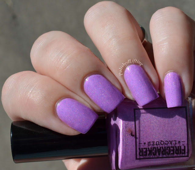 Firecracker Lacquer Purple Sticky Punch