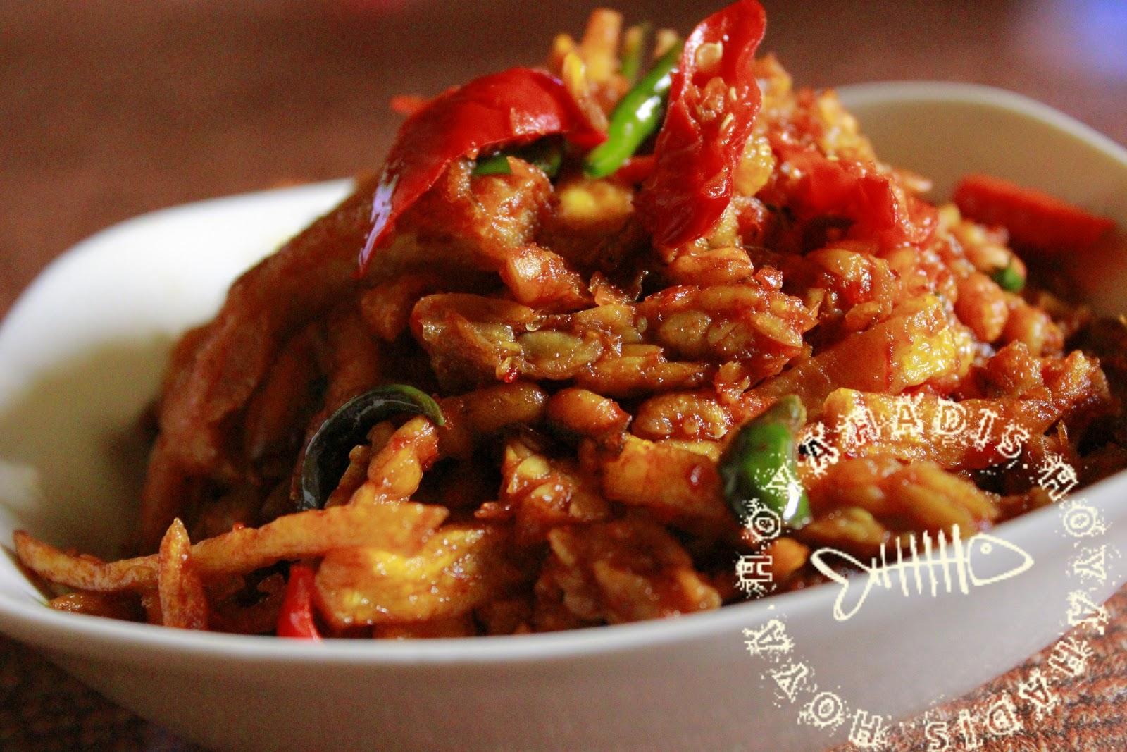 Resepi - Sambal goreng tempe