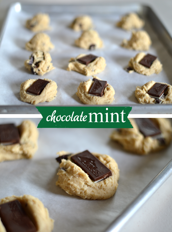 Simple mint chocolate chip cookie recipe