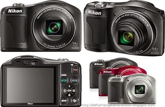 Harga dan Spesifikasi Kamera Nikon Coolpix L610