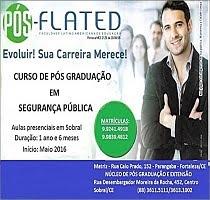 FLATED - CURSO DE PÓS-GRADUAÇÃO EM SEGURANÇA PÚBLICA