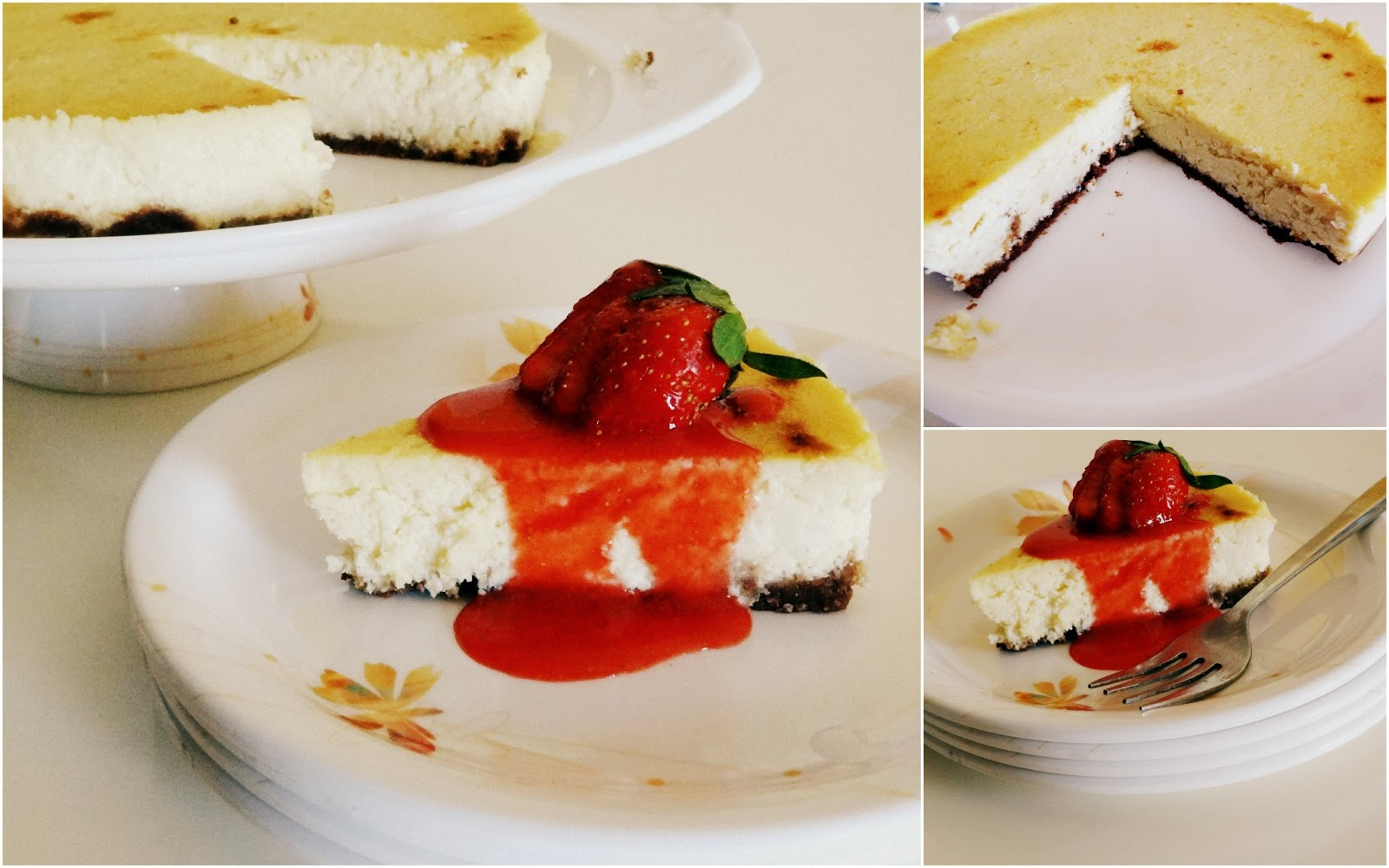 Soniaz Delights: Ricotta Cheesecake with Homemade Ricotta Cheese