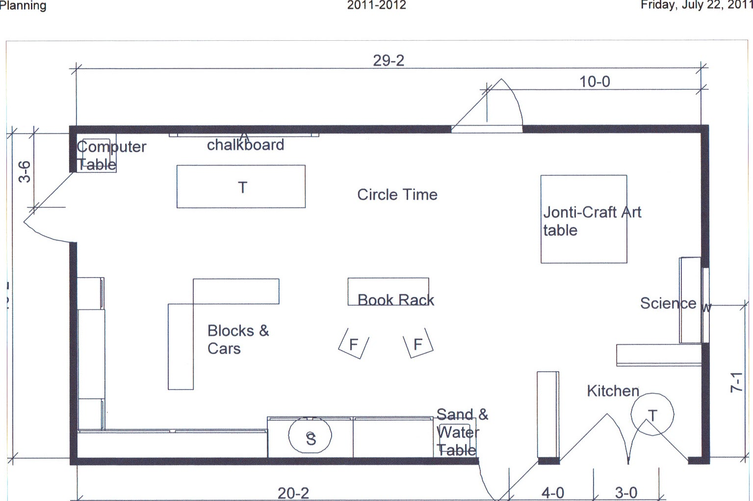 Preschool Teacher Once Again Classroom Layout 11 12