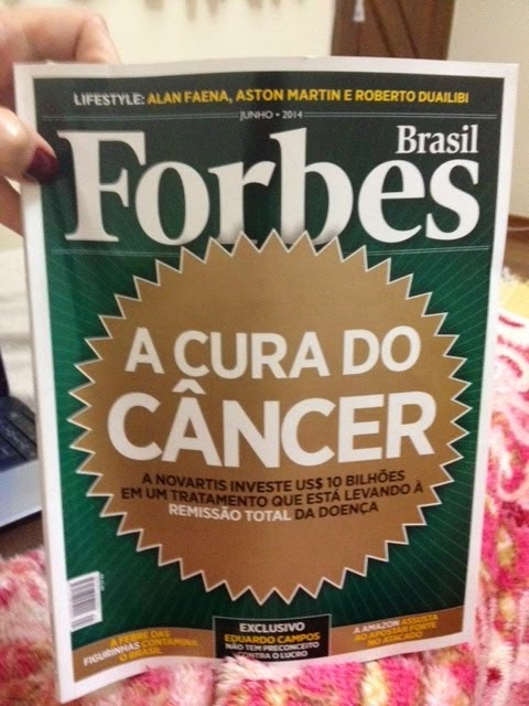 A Cura do Câncer- Revista Forbes jun/14