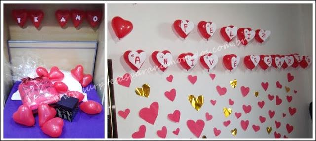 mensagem nos balões