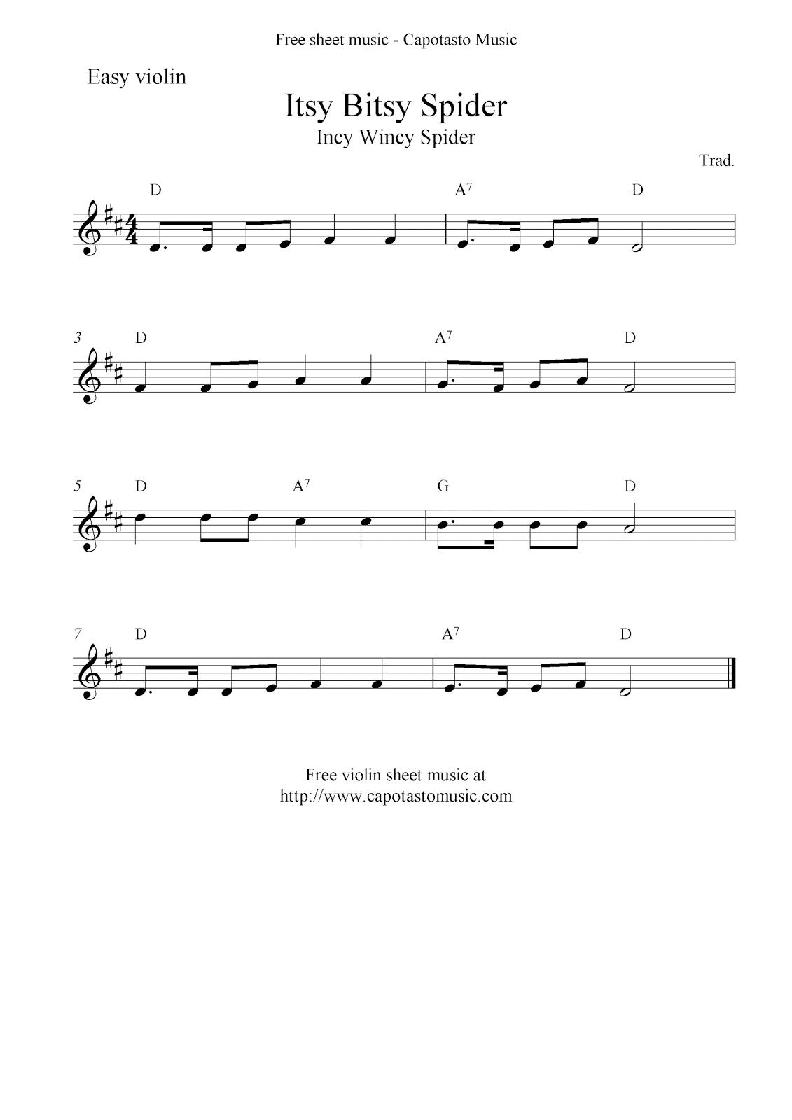itsy bitsy spider lyrics pdf