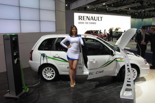 CO2 E RACECO2 GREEN DRIVE RUSSIAN ELECTRIC CARS