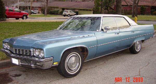 Daily Turismo: 5k: Head Turner: 1972 Buick Electra 225