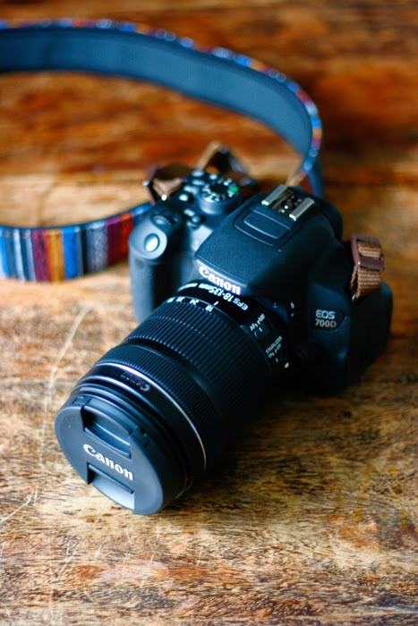Canon EOS 700D mit 18-135 mm Objektiv