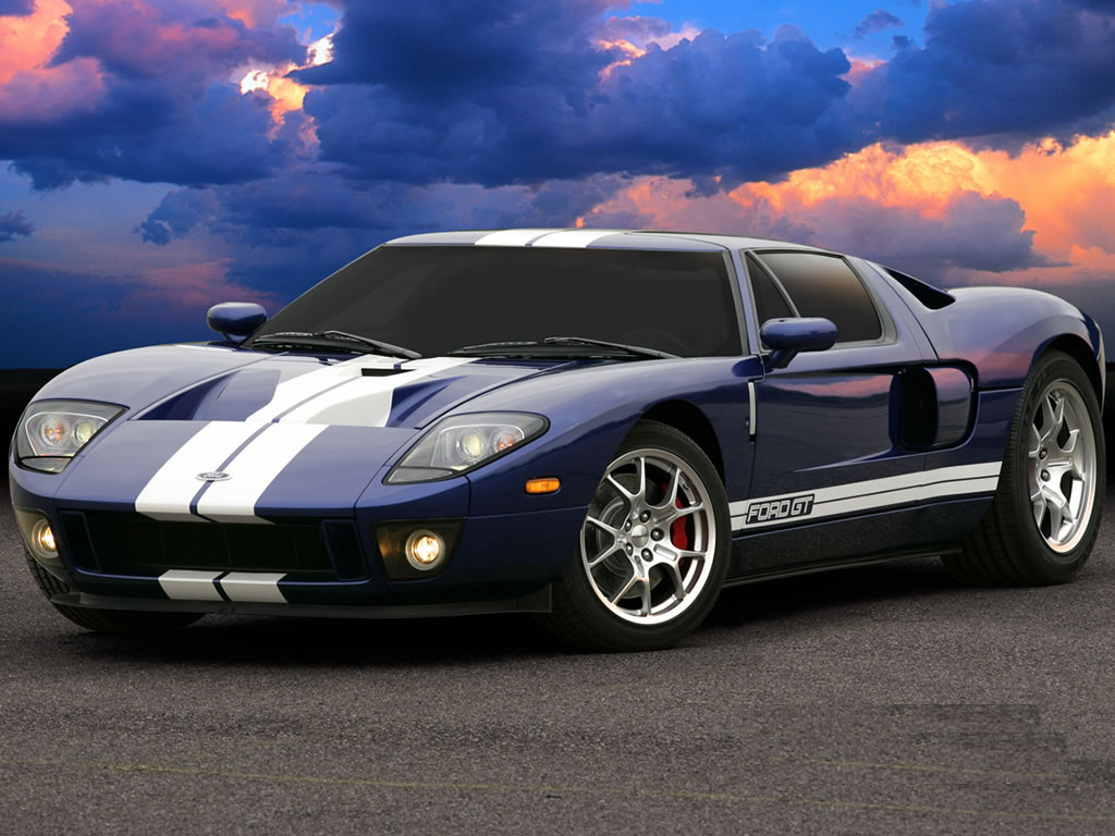 Ford Gt Sports Racing Car