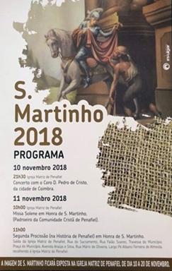 São Martinho-Penafiel 2018 (Programa religioso)