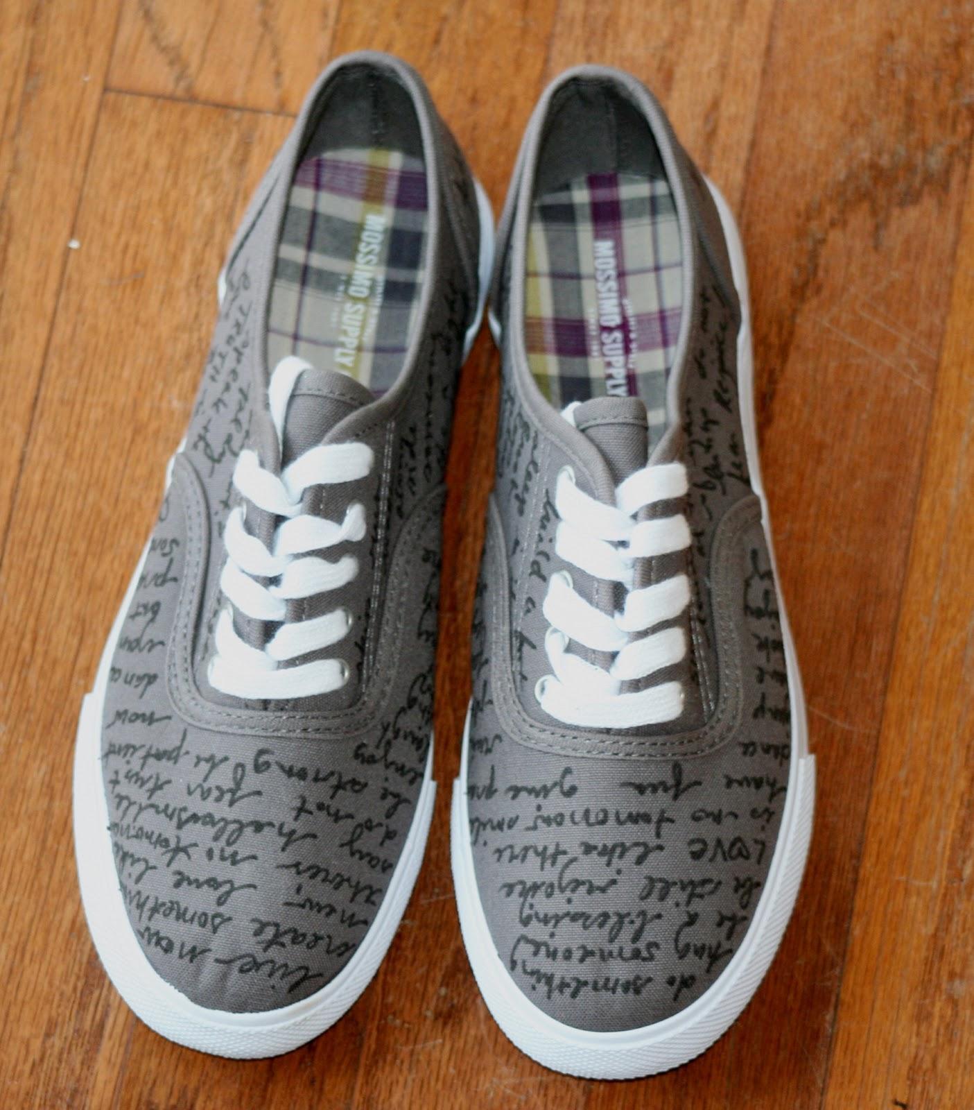 Circles of sunshine re style diy shoe fun for Diy shoes design