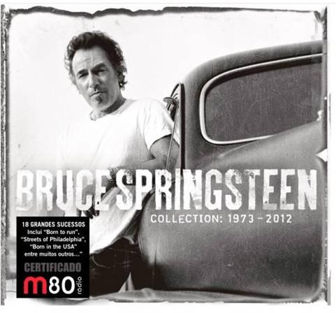 Bruce Springsteen Collection 1973-2012 CD Capa