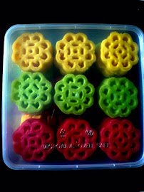 Colorful Kuih Ros
