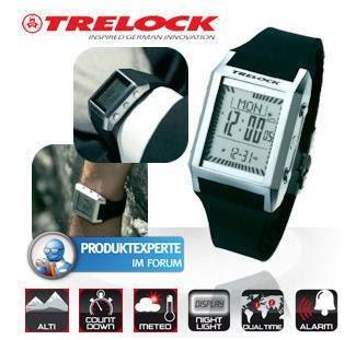 Geocoaching-Uhr Trelock Crossover GC 350 bei iBood für 35,90 Euro