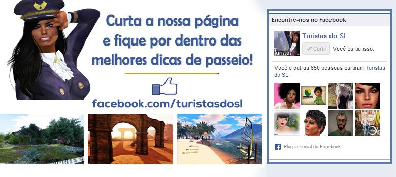 Turistas no Facebook!