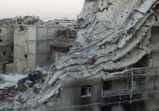 تعرض حمص للقصف بالطائرات وبمدافع المورتر من قبل القوات النظامية السورية