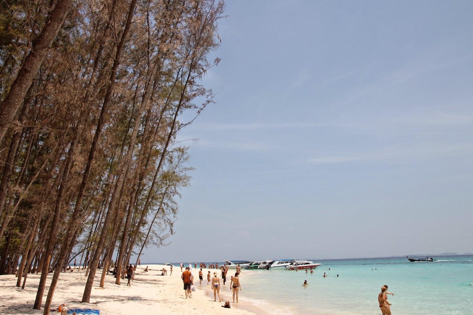 Ko Phi Phi está entre os melhores lugares para se visitar na Tailândia