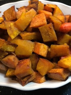 Michele's Woman Cave: Cinnamon Honey Roasted Autumn Vegetables