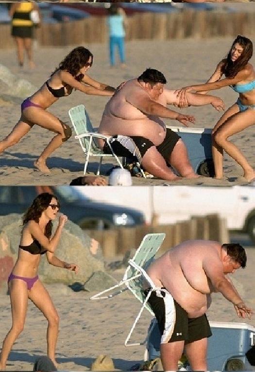 La Pequeña Silla de la Playa