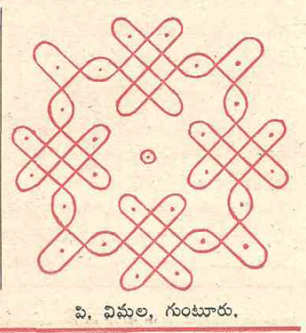 chandamama telugu sankranthi geethala chukkala muggulu collection