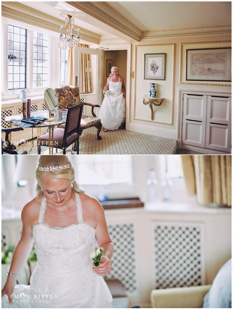 Danesfield House wedding bride