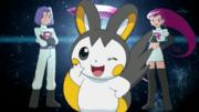 ¡El electrizante recluta del Equipo Rocket!