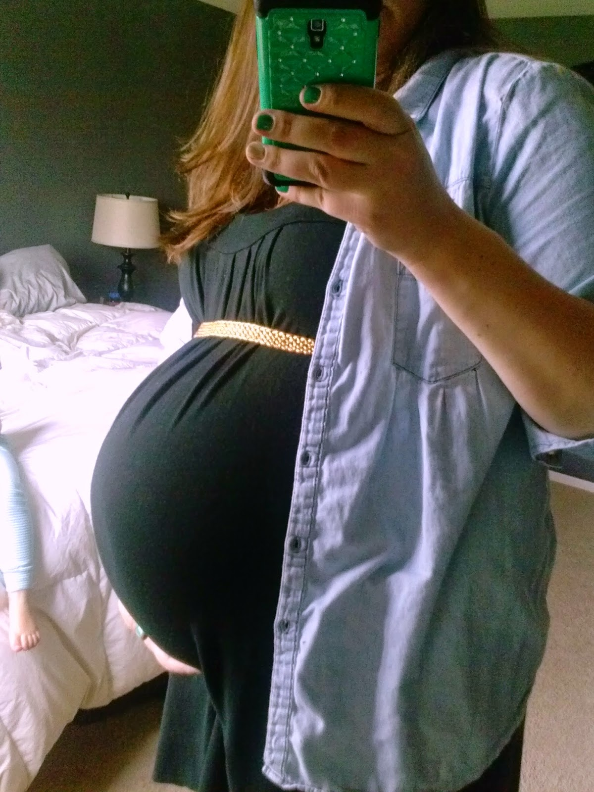 30 weeks pregnant with baby number three